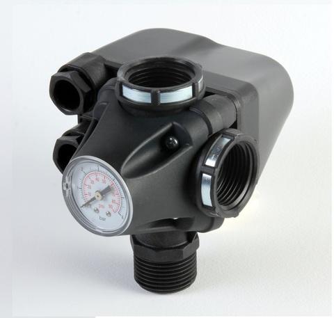 Реле давления с манометром Italtecnica PM/5-3W