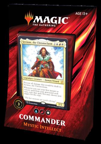Commander 2019: Mystic Intellect (на английском)