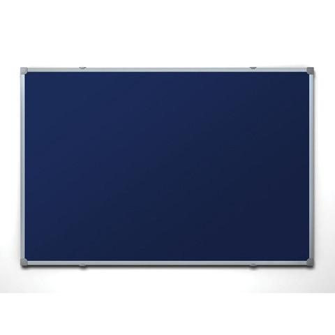 Доска для информации текстильная 100х150 синяя Attache Россия