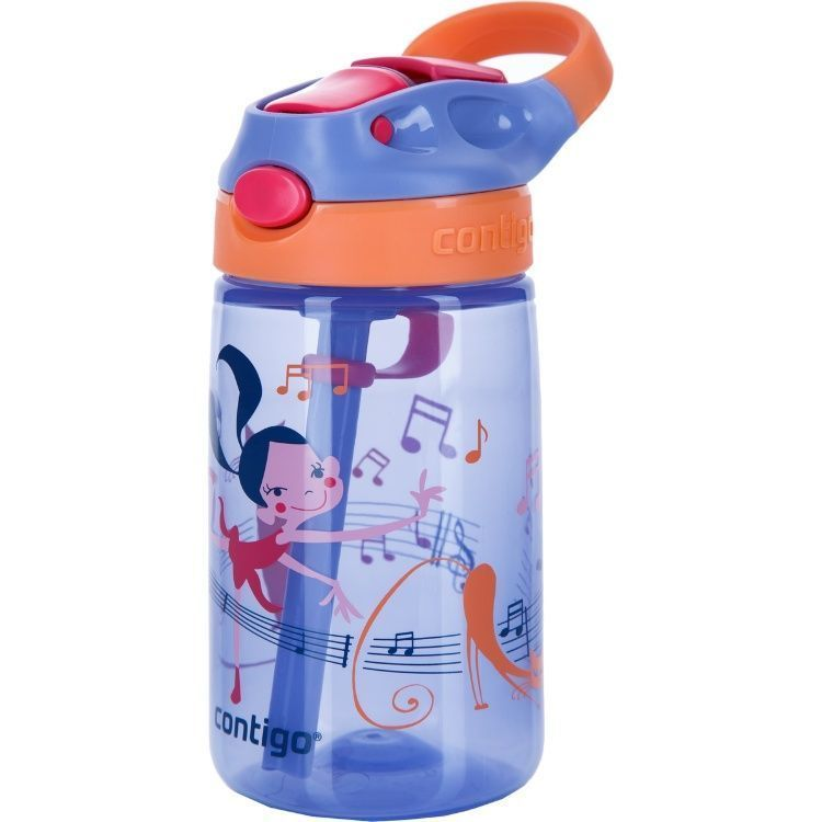 Детская бутылочка Contigo для воды «Gizmo Flip» (0,42 литра), фиолетовая