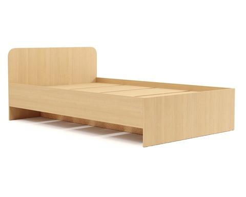 Кровать АНДРИЯ-16 дуб белёный