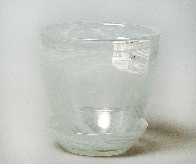 Горшок с подд. №2 93-025 алеб. бел.