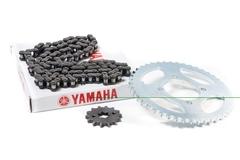 Комплект цепь+звезды для Yamaha YBR125 04-09