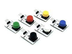 Модуль кнопки (белый)