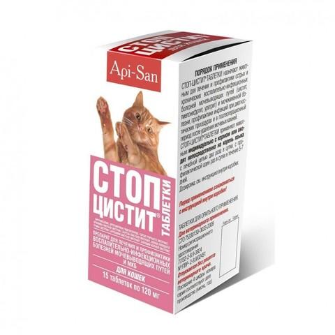 Стоп-Цистит таблетки для кошек 15таб