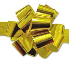 Бант-шар металлиз. (золото) 50x160 большой