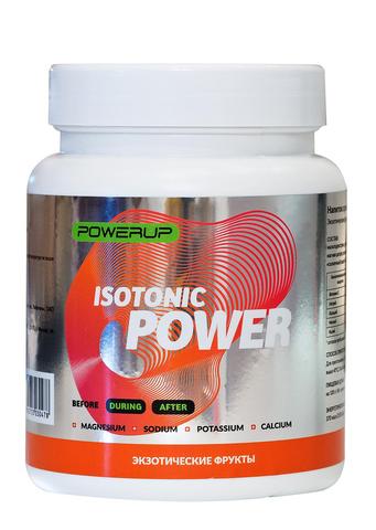 Спортивный изотонический напиток POWERUP Экзотические фрукты