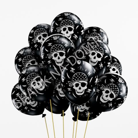 Хэллоуин Пиратские воздушные шары Воздушные_шары_пиратские.jpg