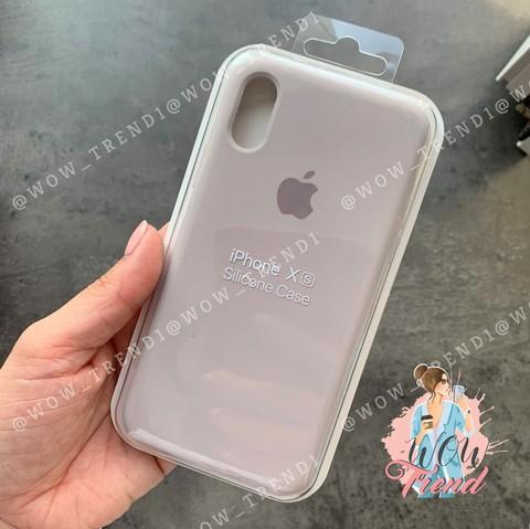 Чехол iPhone 6/6S Silicone Case Full /lavender/ лаванда