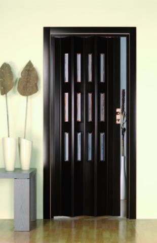 пластиковая дверь гармошка