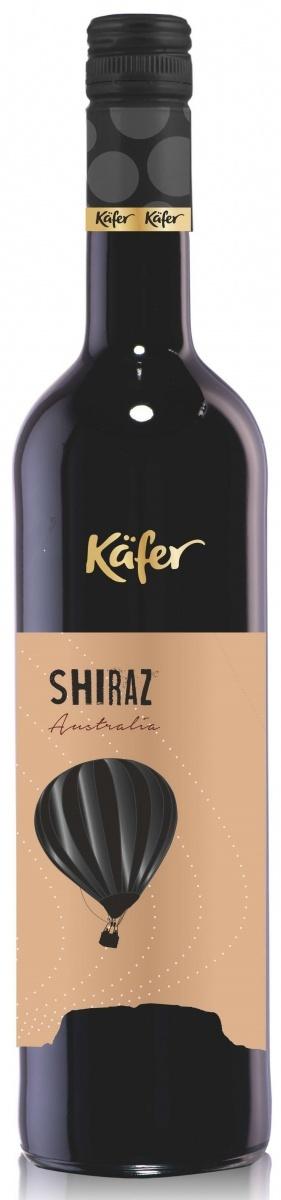 Вино Кэфер Шираз Австралия красное сухое защищ.геогр.указ. 0,75л.