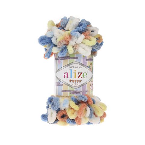 Купить Пряжа Alize Puffy Color Код цвета 5866 | Интернет-магазин пряжи «Пряха»