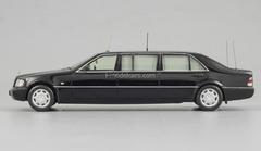 Mercedes-Benz S500 Pullman Guard W140 President Boris Yeltsin DIP 1:43