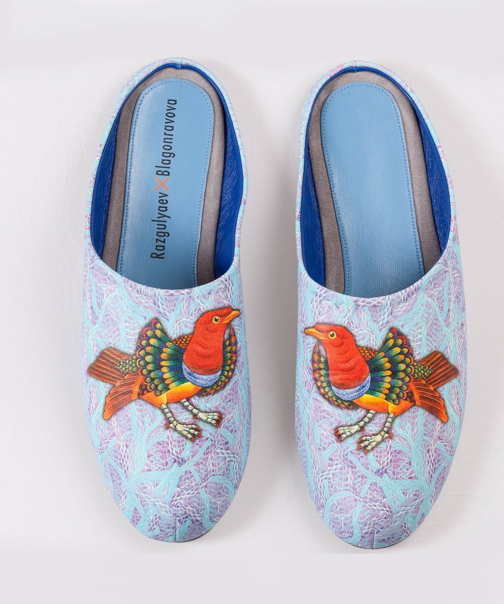 Домашние тапочки Разгуляев Благонравова Райская птица 71304