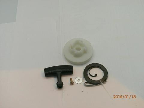 Ремкомплект UNITED PARTS для ручного стартера M8910 Husqvarna 365 (все,кроме крышки и шнура)