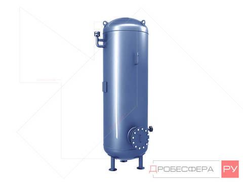 Ресивер для компрессора на 2000 литров 10 бар вертикальный