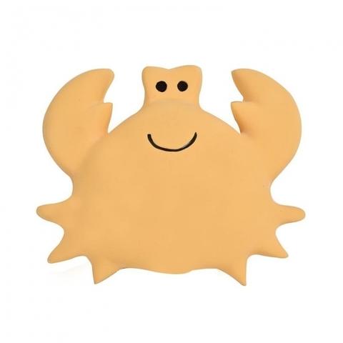 Игрушка прорезыватель/для ванны из каучука Краб в подарочной упаковке