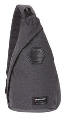 Рюкзак Wenger на одно плечо, цвет cерый, 25х15х45 см, 7 л