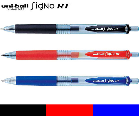Гелевые ручки Uni-Ball Signo RT 0,5 мм EcoWriter UMN-105EW
