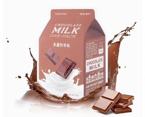 Тканевая маска chocolate milk one pack