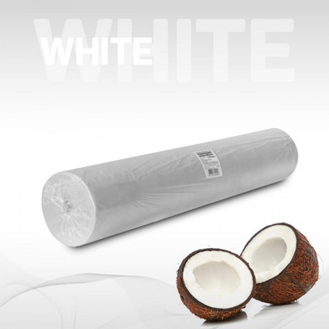 Одноразовые простыни Комфорт в рулоне белые, СМС, 200х80см (100шт/уп)