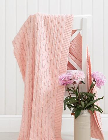 Элитный плед-покрывало Imperio 22 розовый от Luxberry