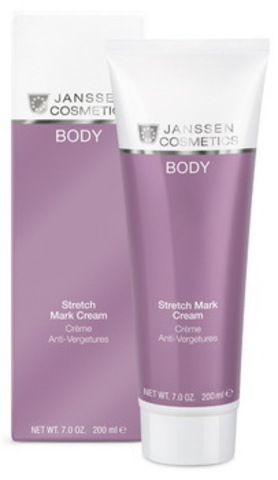 Крем против растяжек Janssen Stretch Mark Cream,200 мл.