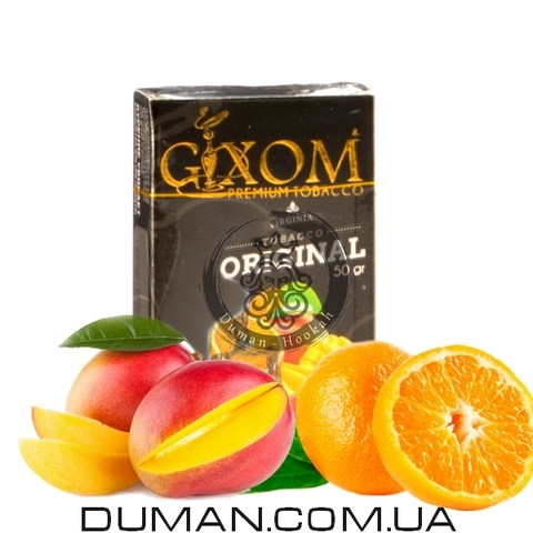 Табак Gixom Orange Mango (Гиксом Апельсин Манго)