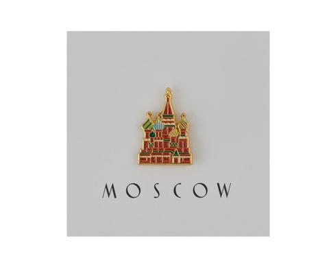Значок металлический Покровский собор
