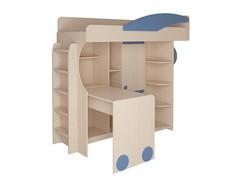 Кровать-чердак СБ-441 б/матр + лестн.№2