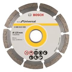 Алмазный диск Bosch ECO Universal 125х22,23 мм