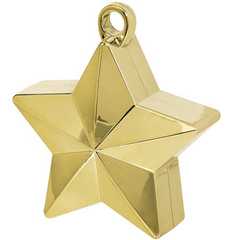 Грузик д/шара Звезда золотая, 170 гр