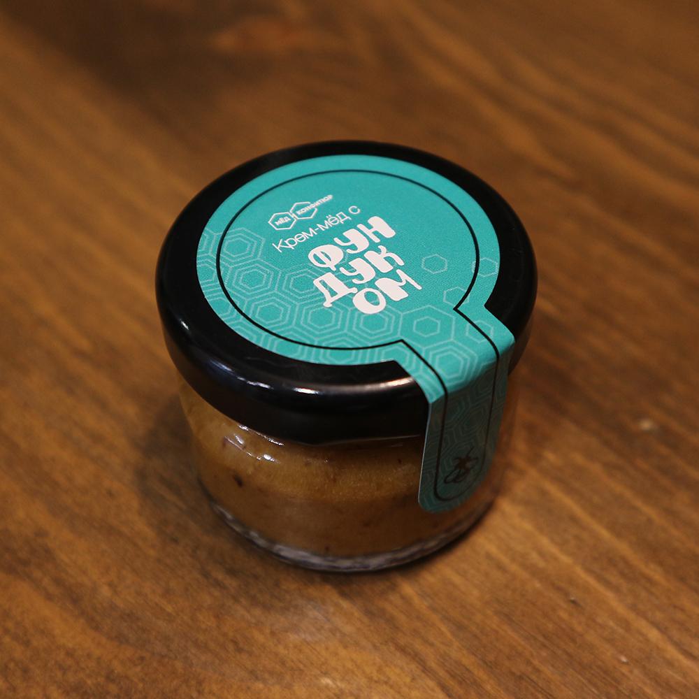 Купить крем-мед с фундуком в Перми