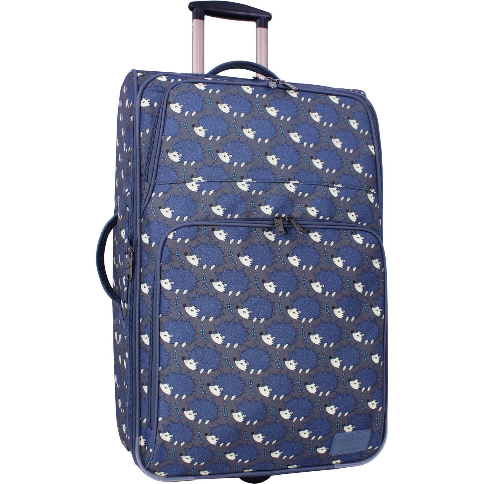 Дорожные чемоданы Чемодан Bagland Леон большой дизайн 70 л. сублімація 481 (0037666274) IMG_6374_суб.481_.JPG