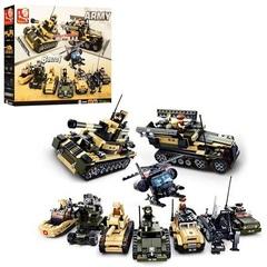 Конструктор серия Армия Военная техника