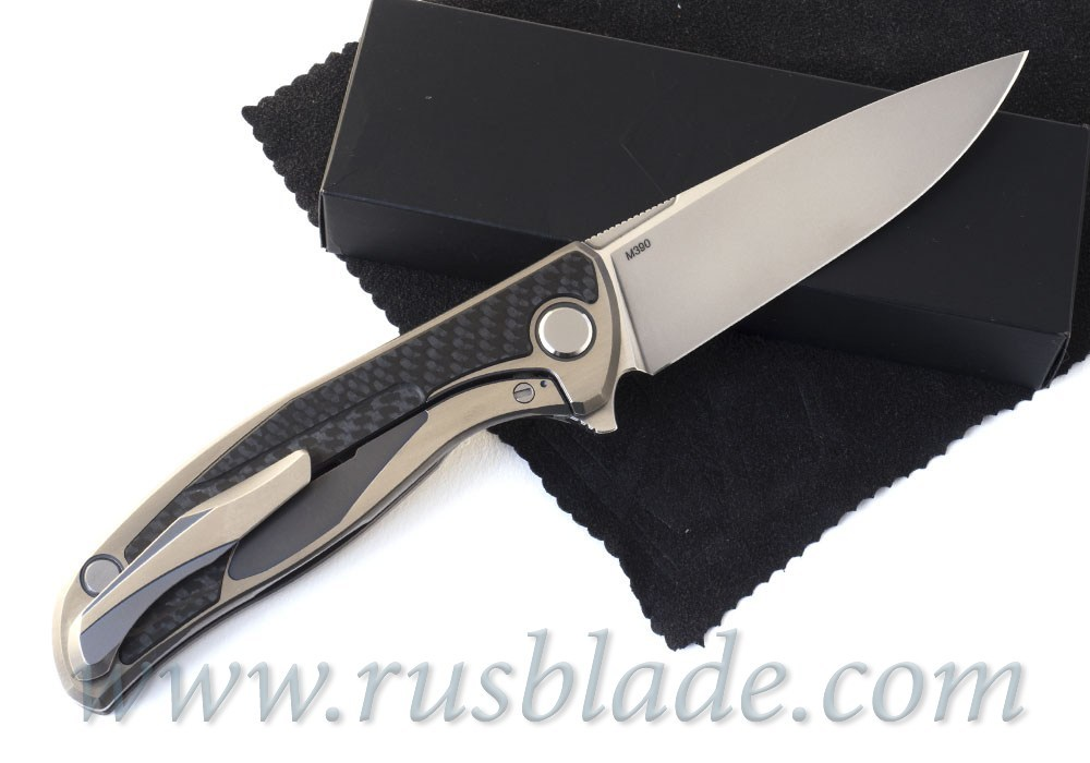 CUSTOM Shirogorov F95 M390 Rare Custom Division