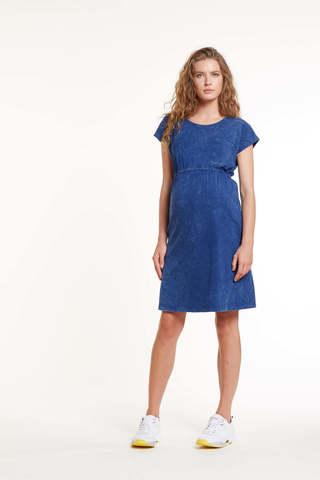 Платье для беременных 11454 синий