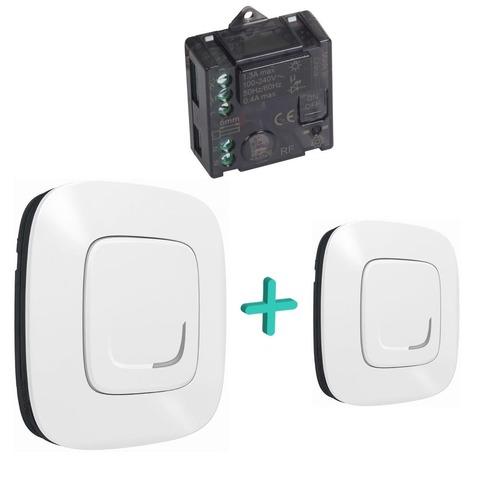 Дополнительный пакет управления освещением c 2 мест. Цвет Белый. Valena Allure NETATMO. 752550