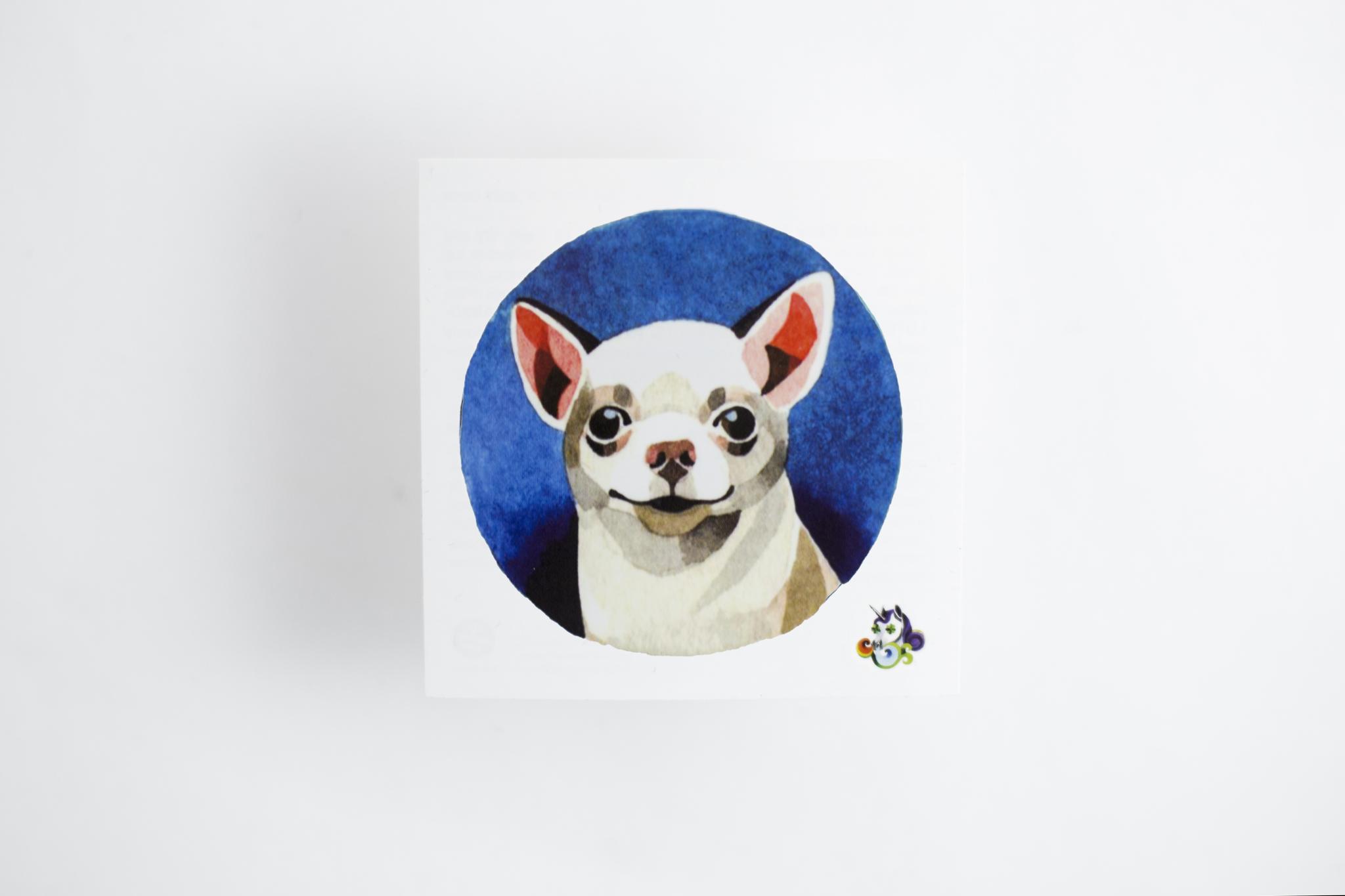 Переводная татуировка Chihuahua
