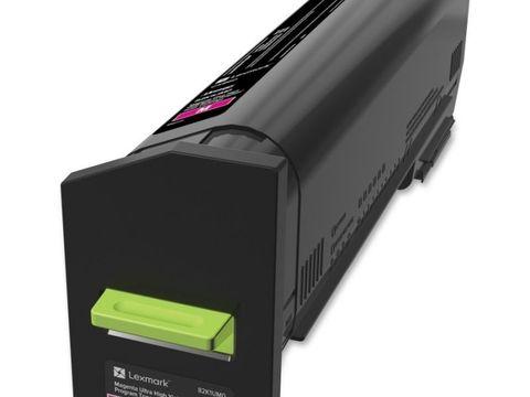 Картридж повышенной емкости для принтеров Lexmark CX860 пурпурный (magenta). Ресурс 55000 стр (82K5UM0)
