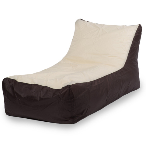 Кресло-мешок «Кушетка» Коричнево-бежевый