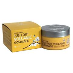 Mizon Push Out Volcanic Gommage - Очищающий гоммаж с вулканическим пеплом