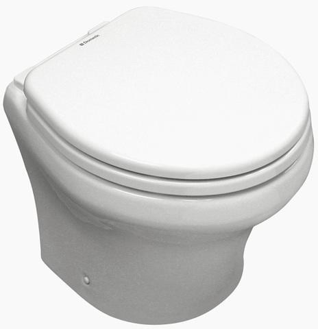 Туалет электрический с мацератором Dometic MasterFlush 8112