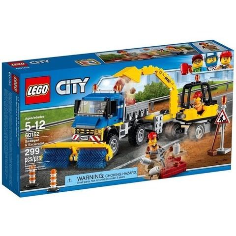LEGO City: Уборочная техника 60152