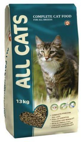 ALL CATS Корм для кошек 13 кг .