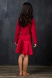 Малиновое домашнее платье для девочек La Perla