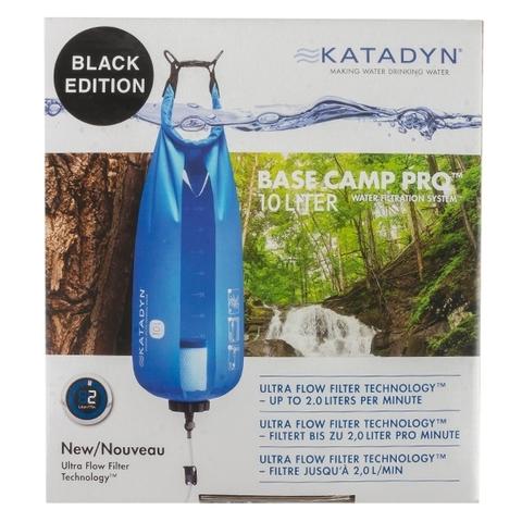 Katadyn Wasserfilter-System Base Camp Pro 10 Liter schwarz