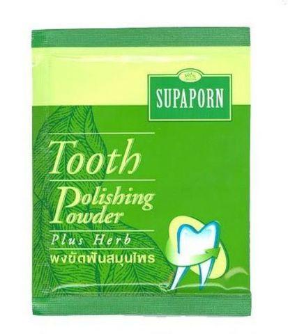 Зубной порошок с травами, Супапорн, Supaporn. 25 мл.