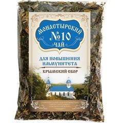 Чай Монастырский в картоне №10 для повышения иммунитета, 100 гр. (Крымский сбор)