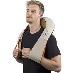 Роликовый массажер для шеи и плеч с ИК-прогревом FitStudio